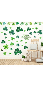 shamrock wall decal stickers