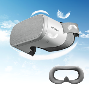 pvr iris vr headset comfortable