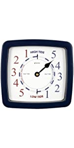 Atlantic Tide Clock for Nautical and Home Decor Gift