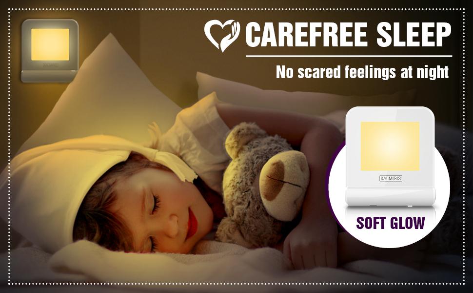 nightlight children night lights kids baby toddler girls boy sensor color bedroom dusk dawn autism