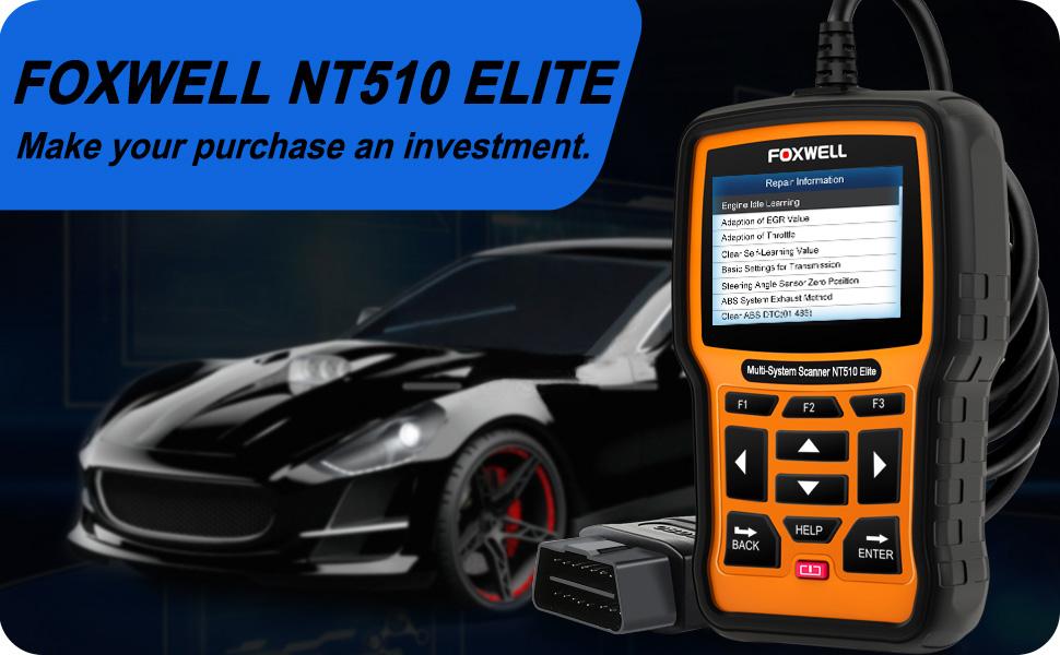 NT510 for VW Jetta DIAGNOSTIC SCANNER OBD2 CAR SCAN TOOL ERROR CODE READER ABS