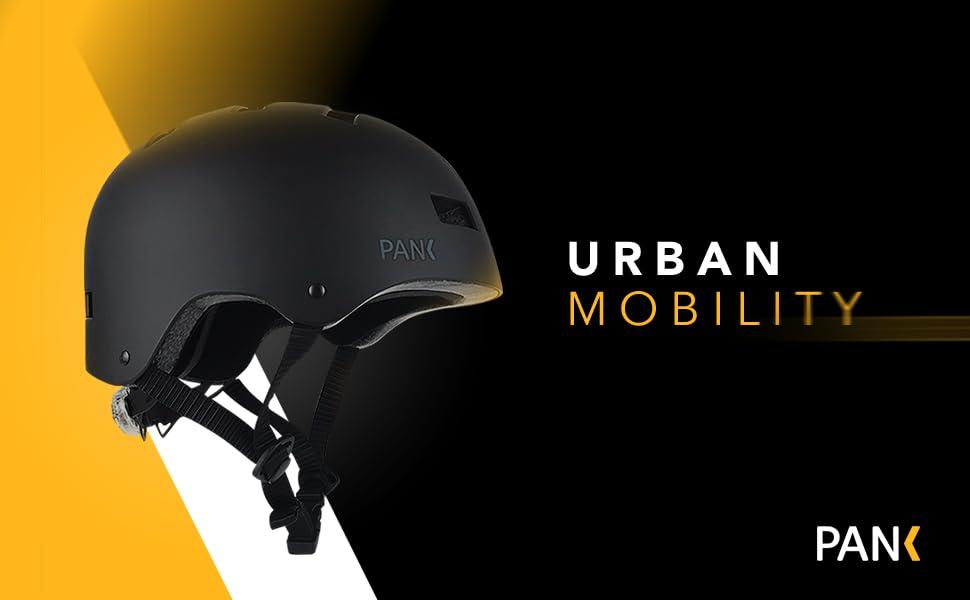 casque trotinette electrique adulte femme skate vélo lumiere led e-scooter urbain vtt vtc