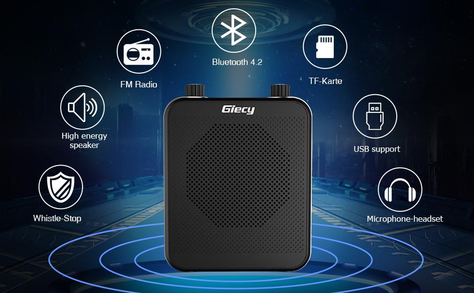 portable voice amplifier