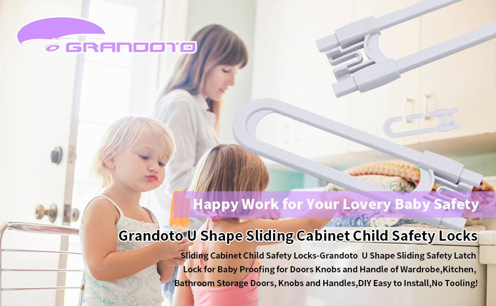 Sliding Cabinet Child Safety Locks