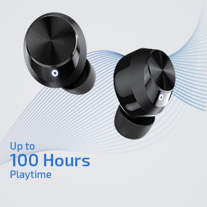 100 Hours Playback Earbuds