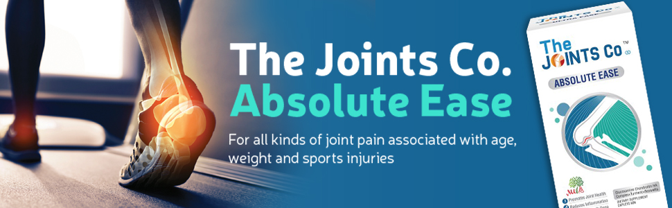 The Joints Co Absolute Ease with Glucosamine Chondroitin Complex+Herbal Blend, Bones & Cartilage
