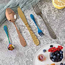 fork and spoon kitchen set