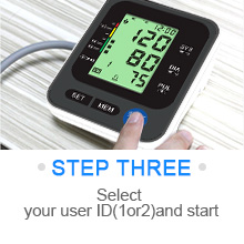 """3  Blood Pressure Monitor for Home Use with Large 3.5"""" LCD Display, Wowgo Digital Upper Arm Automatic Measure Blood Pressure and Heart Rate Pulse with Wide-Range Cuff,Three-Color Backlight Display a493675c c2ad 429b 9f59 e546890661ff"""