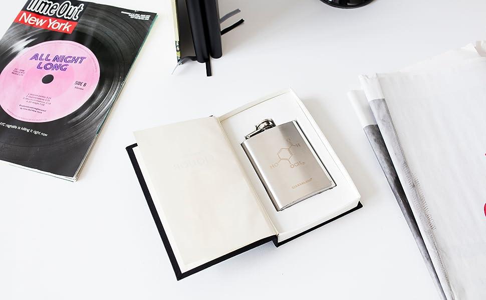 Chemistry Book Flask - BA24