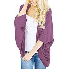 purple summer cardigan