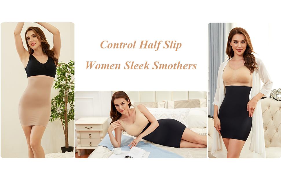 slimming half slip shapewear