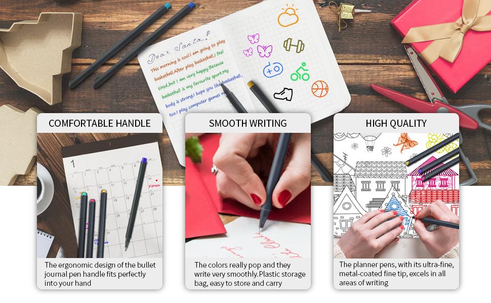 planner pens