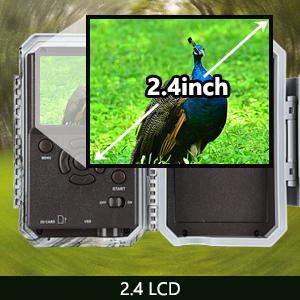 2.4 LCD display screen