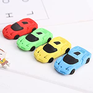 Novelty stationary /& accessories Cars Disney Pixar Erasers 8-Pack