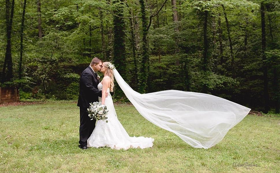 bridal veil wedding