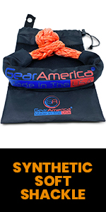 Synthetic Soft Shackle, Soft Shackle, Recovery gear, GearAmerica shackles, off-road recovery