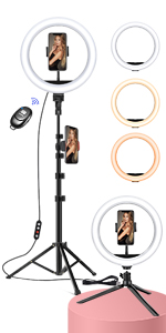 Sefie Ring Light with Tripod Stand