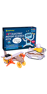 Wooden science kits
