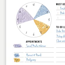 Appointments Daily Planner