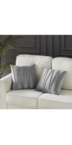 grey pillows