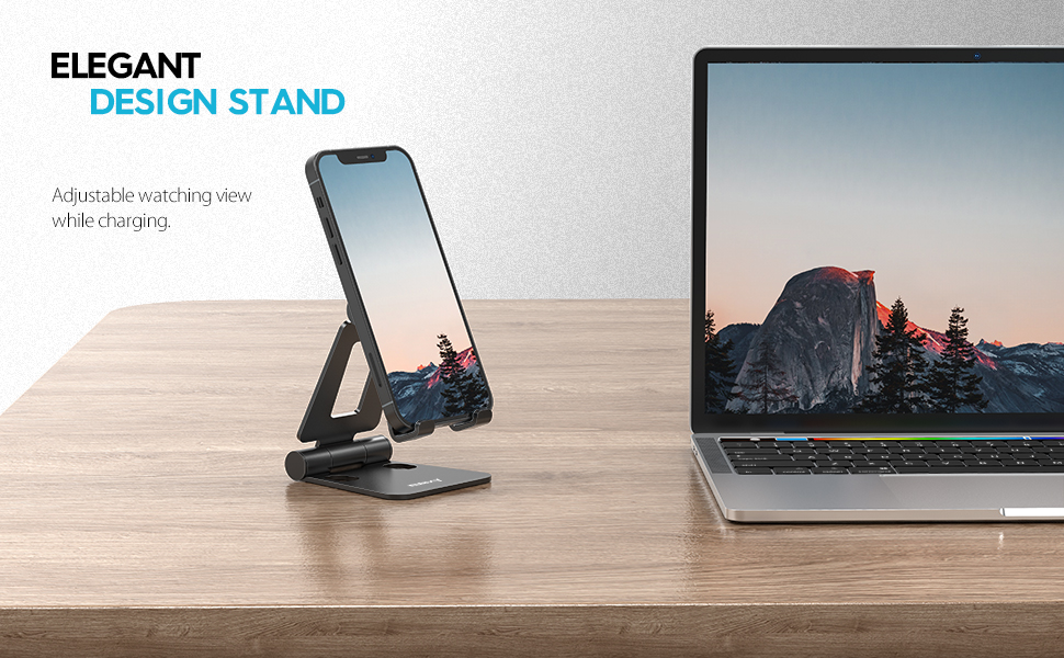 desk iPhone stand