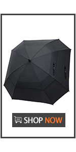 62 Inch Square Golf Umbrella