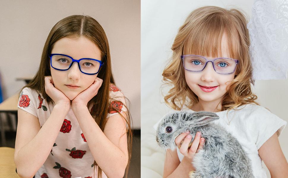 Kids Blue Light Glasses for Teens Girls Boys