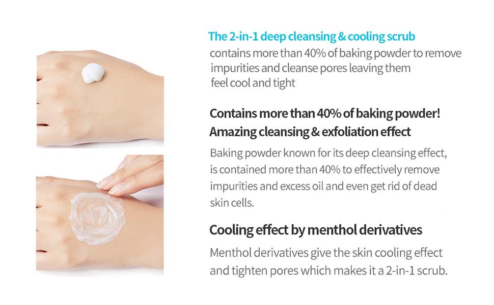 Baking Powder Crunch Pore Scrub 7g x 24ea