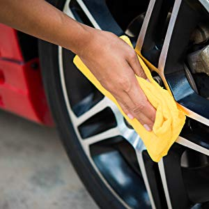 polishing tires tire mirror deep gloss system nano clean wheels chrome alloy microfiber shine tires