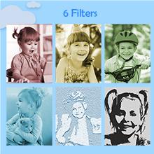 Scene Filter Options