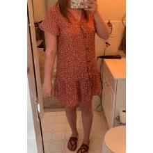 comfy chic summer mini dress for girls