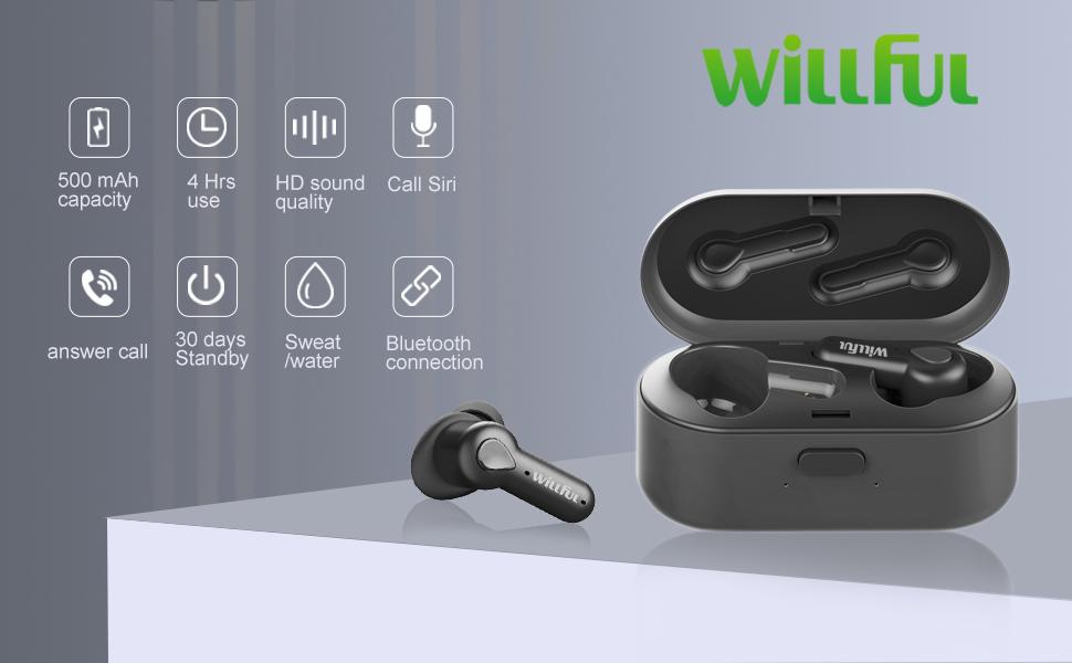 true wireless earbuds bluetooth earbuds headphones