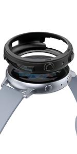 Hecho con acero inoxidable, lleva tu Galaxy Watch Active 2 al siguiente nivel