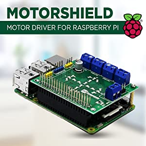 motorshield for raspberry pi