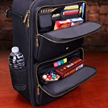 Extra Pockets for storing small games and accessories