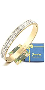 Cubic Zirconia Stones Bracelet