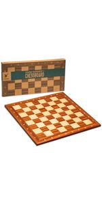 Husaria Magnetic Folding StauntonTournament Chess Board, No. 5