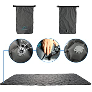 Sleeping pad for men, sleeping mat for adults, comfortable sleeping mad for adults, FE Active camp