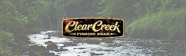Clear Creek fishing rod fly case pole reel bag travel tube holder rods storage