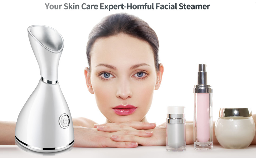Portable Nano Ionic Facial Steamer Machine At Home