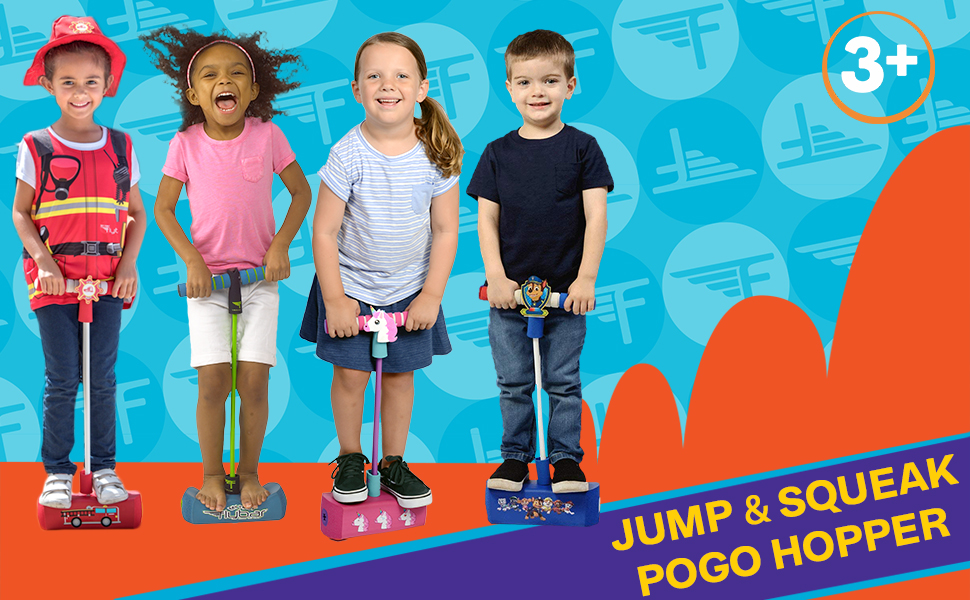 Jump & Squeak Pogo Hopper