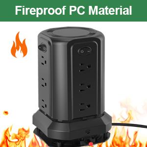 fireproof power strip