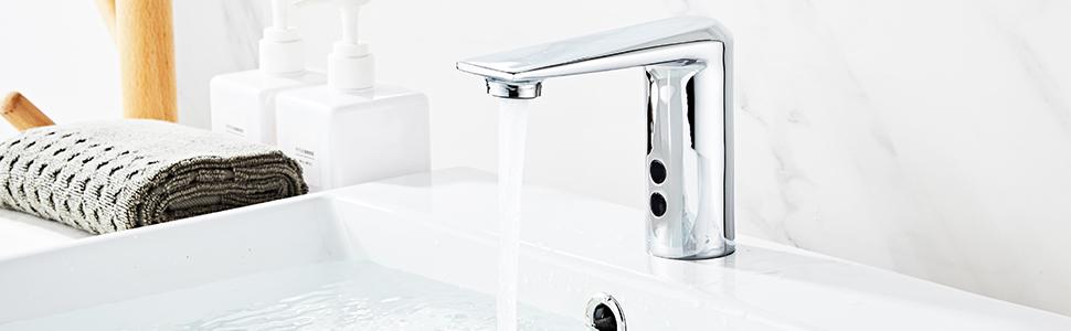motion sensor faucet for bathroom