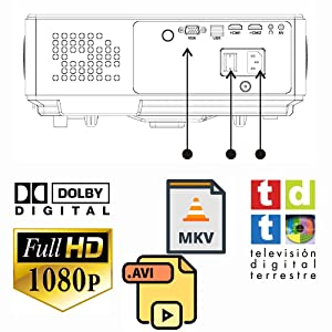 incluye sintonizador de tdt doble hdmi doble usb multimedia mkv avi divx ac3 dolby digital