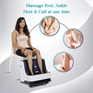 scaping massage for foot reflexology