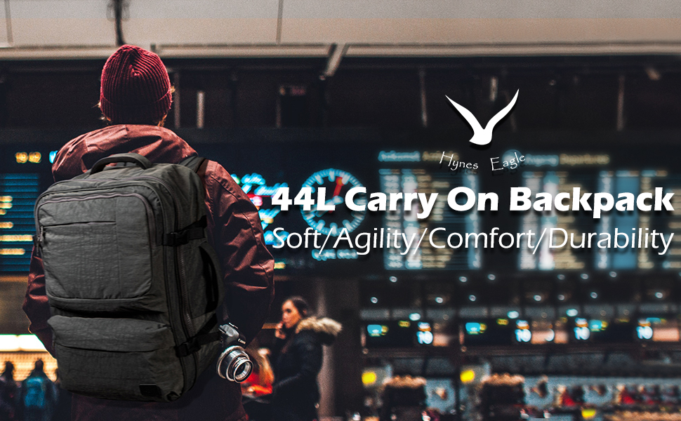 44L Carry on Backpack