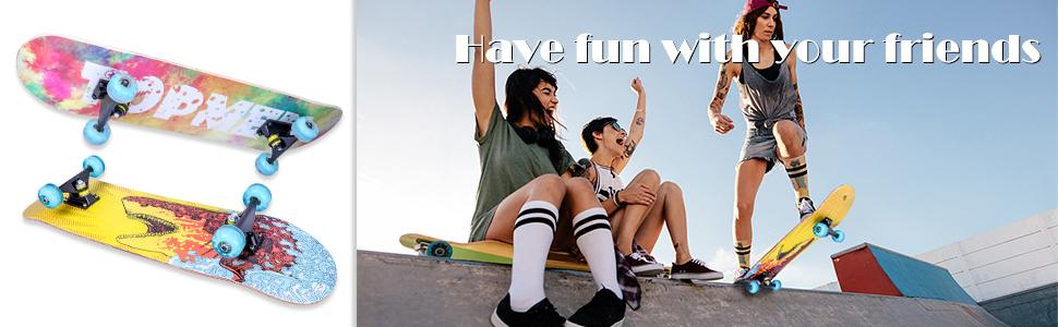 Skateboard Komplette Cruiser