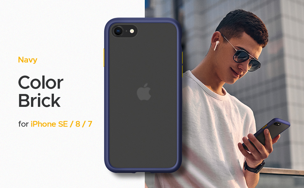 Color Brick Series for iPhone SE 2020