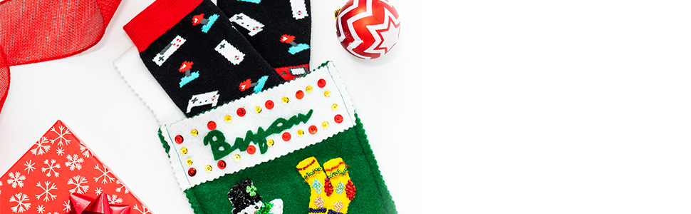 funny gaming socks stocking stuffer gift idea for men