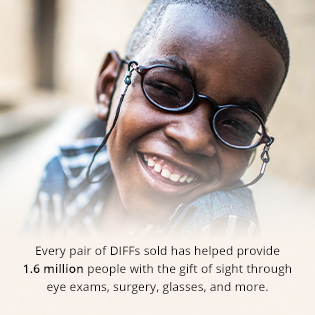 Diff Charitable Eyewear mission